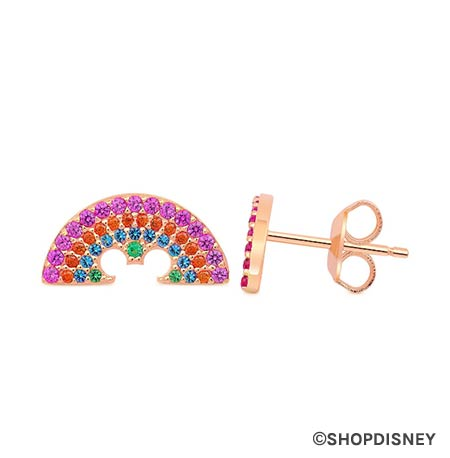 Rainbow Disney Collection Mickey Mouse Rainbow Earrings by CRISLU | Mouse Memos Disney Blog