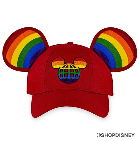 Rainbow Disney Collection Mickey Mouse Ears Baseball Cap | Mouse Memos Disney Blog