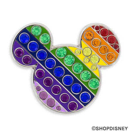 Rainbow Disney Collection Mickey Mouse Icon Pin | Mouse Memos Disney Blog