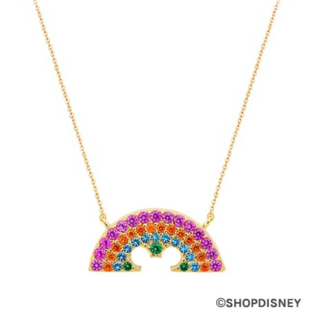 Rainbow Disney Collection Mickey Mouse Rainbow Necklace by CRISLU | Mouse Memos Disney Blog