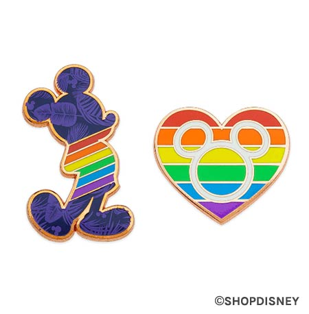 Rainbow Disney Collection Mickey Mouse Pin Set | Mouse Memos Disney Blog