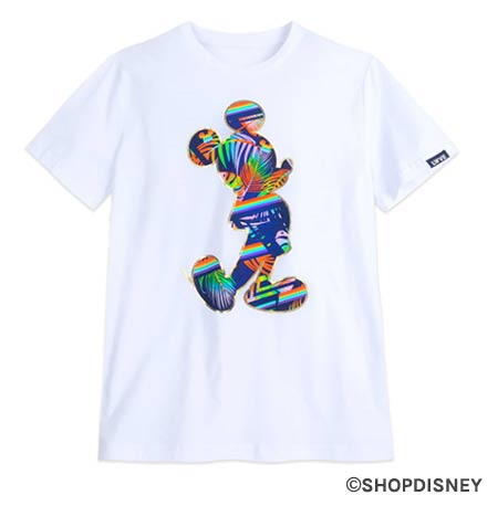 Rainbow Disney Collection Tropical Mickey Mouse T-Shirt | Mouse Memos Disney Blog