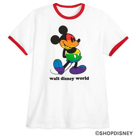 Rainbow Disney Collection Mickey Mouse Pride T-Shirt | Mouse Memos Disney Blog