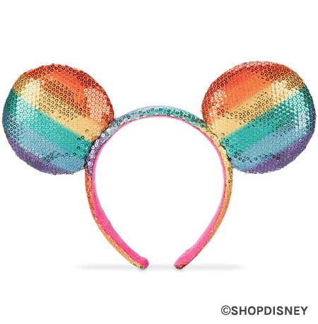 Rainbow Disney Collection Mouse Ears | Mouse Memos Disney Blog
