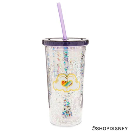 Rainbow Disney Collection Mickey Mouse Heart Hands Tumbler | Mouse Memos Disney Blog