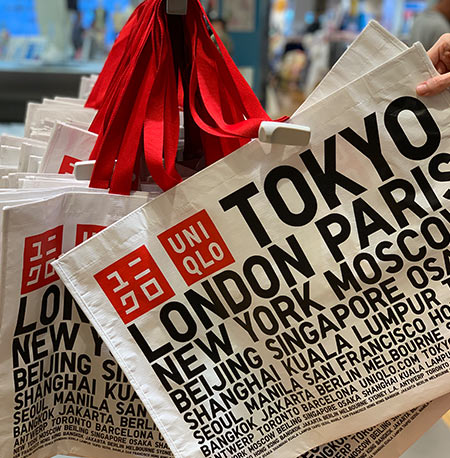 Reusable Bags from UNIQLO at Disney Springs | Mouse Memos Disney Blog