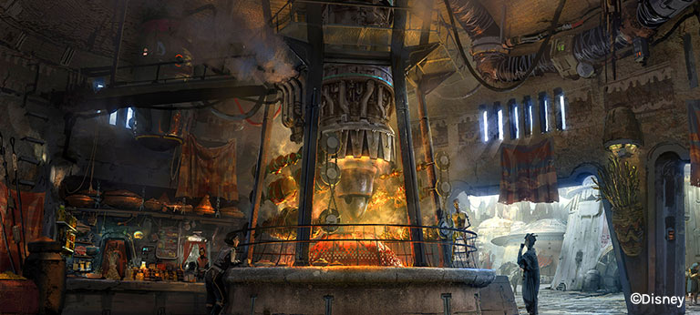Ronto Roasters at Star Wars: Galaxy's Edge | Mouse Memos Disney Blog