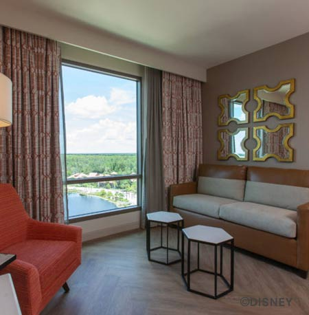 Room at the new Gran Destino Tower Disney's Coronado Springs Resort | Mouse Memos Disney Blog