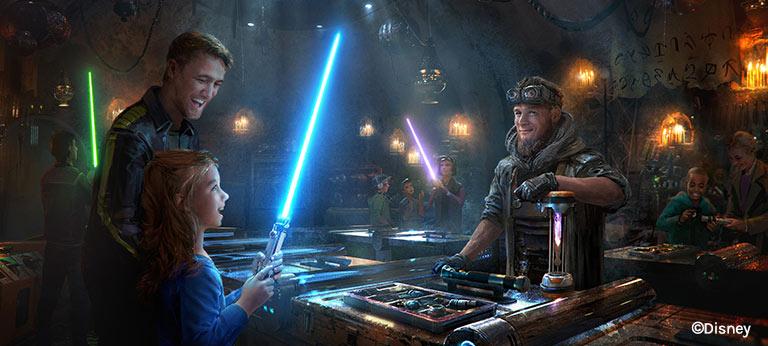 Savi's Workshop at Star Wars: Galaxy's Edge | Mouse Memos Disney Blog