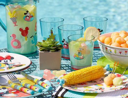 New Disney Summer Entertaining Merch | Mouse Memos Disney Blog
