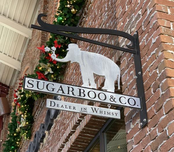 Sugarboo & Co. Sign at Disney Springs | Mouse Memos Disney Blog