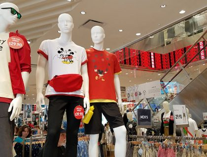 Shopping Spotlight: UNIQLO at Disney Springs | Mouse Memos Disney Blog