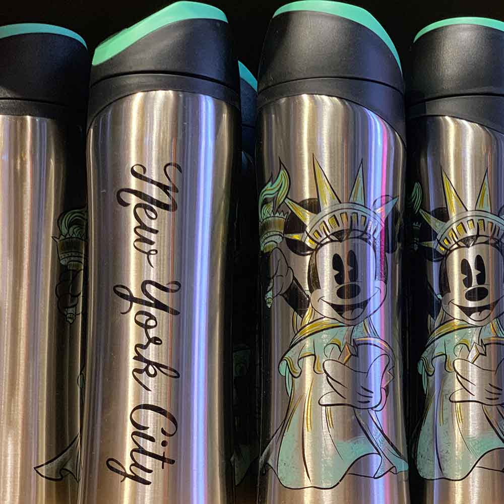 Stainless Steel Tumbler Disney Store Times Square | Mouse Memos Disney Blog