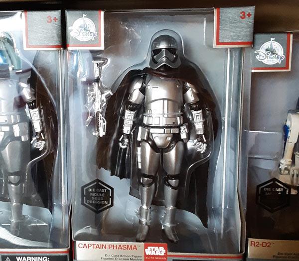Star Wars Merchandise at Walt Disney World Resort: Captain Phasma | Mouse Memos Disney Blog