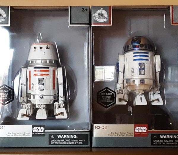 Star Wars Merchandise at Walt Disney World Resort: R2-D2 Figure | Mouse Memos Disney Blog