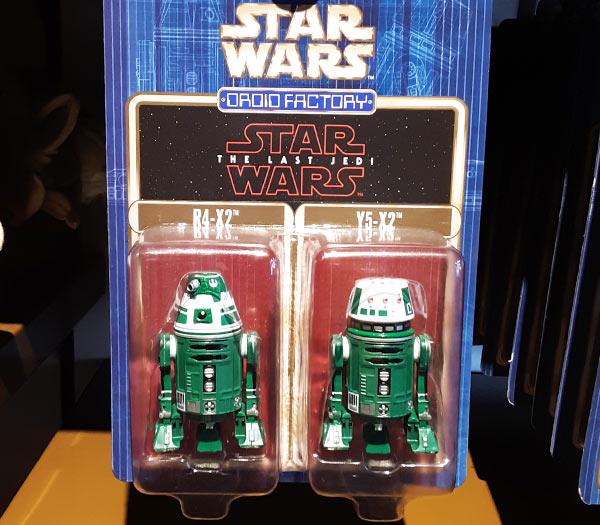 Star Wars Merchandise at Walt Disney World Resort: R4-X2 Y5-X2 Droids | Mouse Memos Disney Blog