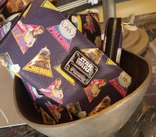 Star Wars Merchandise at Walt Disney World Resort: Loungefly Wallet | Mouse Memos Disney Blog
