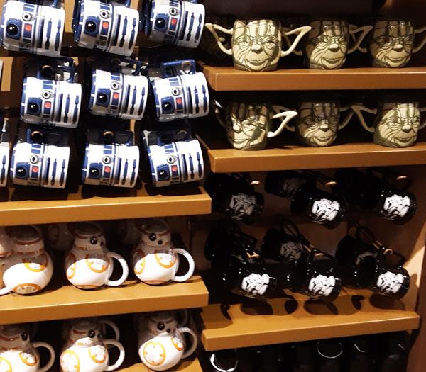 Star Wars Merchandise at Walt Disney World Resort: Coffee Mugs | Mouse Memos Disney Blog