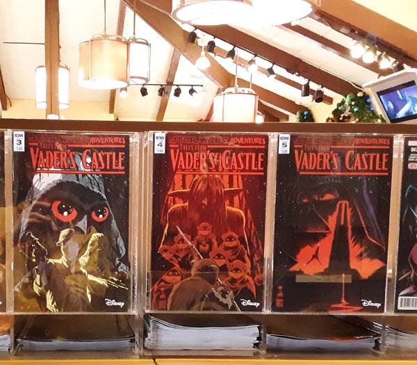 Star Wars Merchandise at Walt Disney World Resort: Comic Books | Mouse Memos Disney Blog