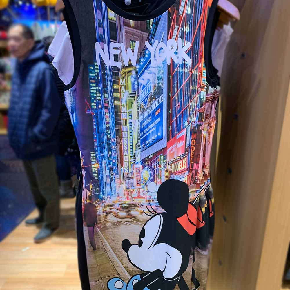 SUGARBIRD x Disney Collaboration Minnie Mouse New York Women's Dress Disney Store Times Square | Mouse Memos Disney Blog