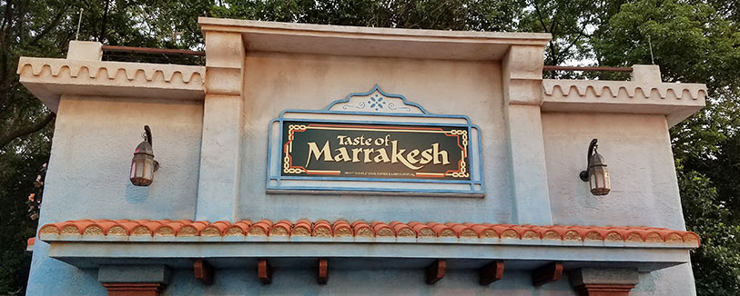 Taste of Marrakesh Menu 2019 Epcot International Flower and Garden Festival | Mouse Memos Disney Blog