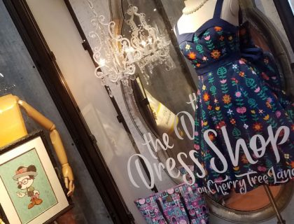 The Dress Shop on Cherry Tree Lane Disney Springs | Mouse Memos Disney Blog