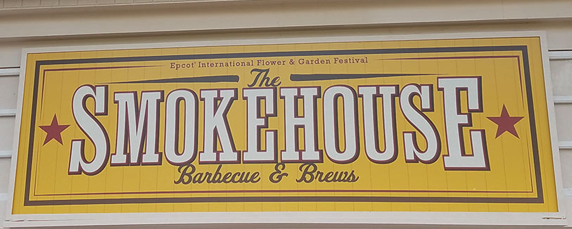 The Smokehouse Menu 2019 Epcot International Flower and Garden Festival | Mouse Memos Disney Blog