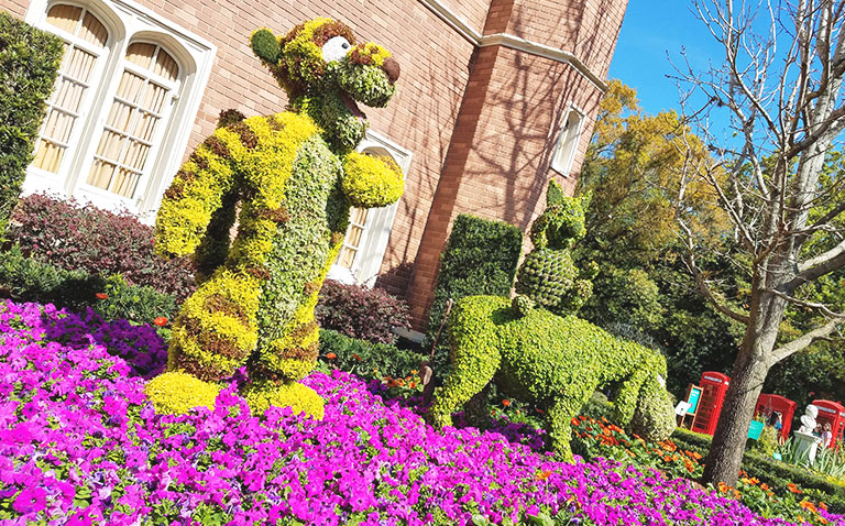 Tigger, Piglet and Eeyore Topiary 2019 Epcot Flower and Garden Festival Topiaries | Mouse Memos Disney Blog