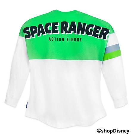 Toy Story 4 Merchandise: Buzz Lightyear Spirit Jersey | Mouse Memos Disney Blog