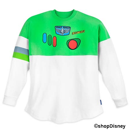 Toy Story 4 Merchandise: Buzz Lightyear Spirit Jersey | Mouse Memos Disney Blog