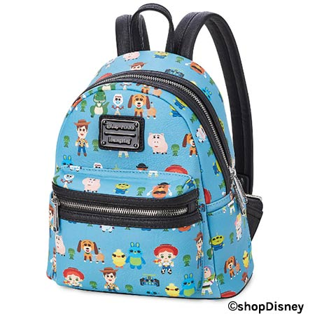 Toy Story 4 Merchandise: Loungefly Mini Backpack | Mouse Memos Disney Blog