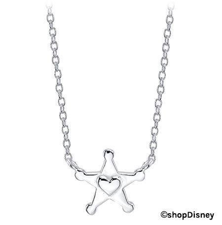 Toy Story 4 Merchandise: Woody Sherrif Badge Charm Necklace | Mouse Memos Disney Blog