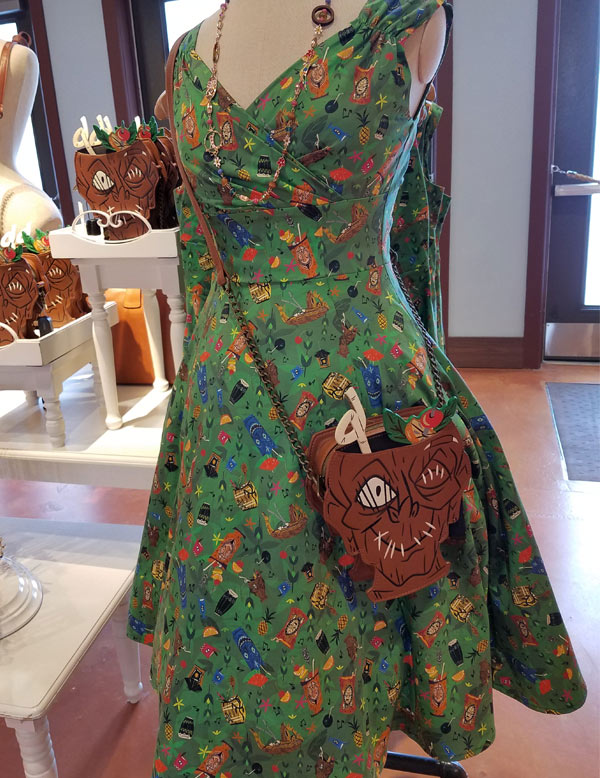 Merch Alert: Trader Sam's Sundress & Shrunken Head Crossbody Bag | Mouse Memos Disney Blog