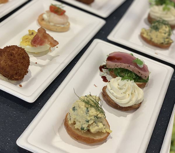 Trio of Savory Croissant Doughnuts at Painter's Palate 2019 Epcot Festival of the Arts | Mouse Memos Disney Blog