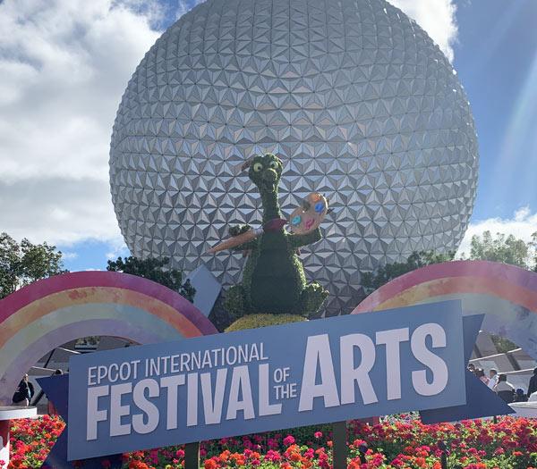 Valentine's Day at Walt Disney World Resort: Festival of the Arts | Mouse Memos Disney Blog