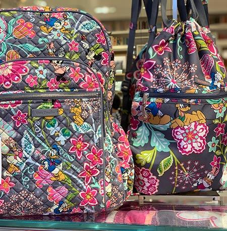 Disney Parks Essentials: What to pack for your Disney Trip - Vera Bradley Backpack | Mouse Memos Disney Blog