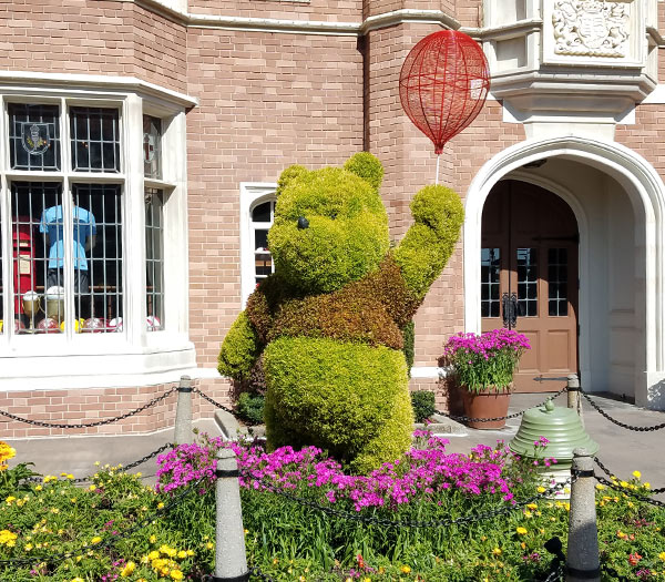 Winnie the Pooh Topiary 2019 Epcot Flower and Garden Festival Topiaries | Mouse Memos Disney Blog