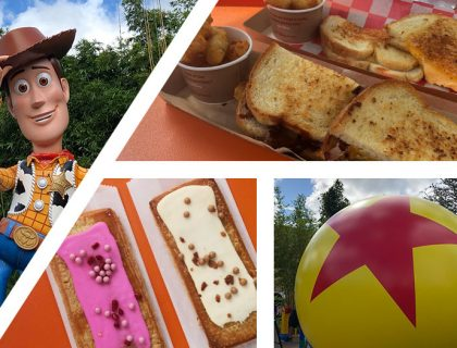 Woody's Lunch Box Food Review from the Mouse Memos a Disney Blog